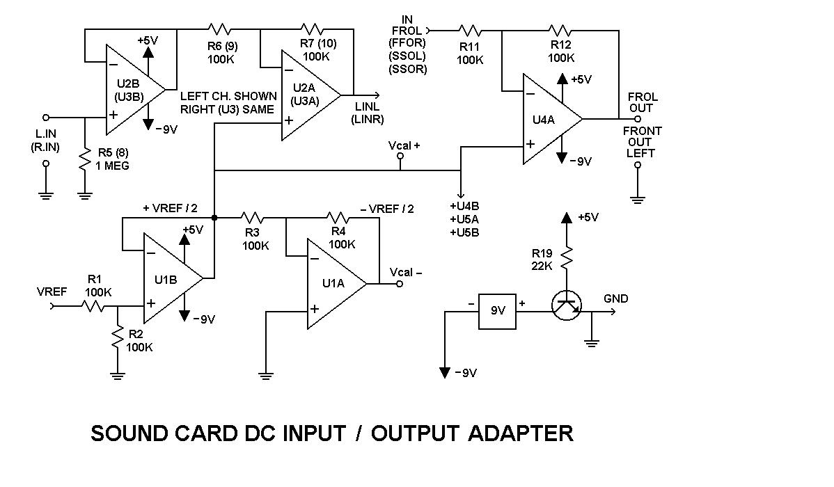 Daqarta Sound Card Dc Input Output Modification Sqauare Usb Wiring Diagram Circuit Details