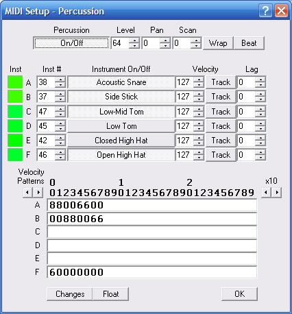 Daqarta - Sound Card Pitch-to-MIDI Converter
